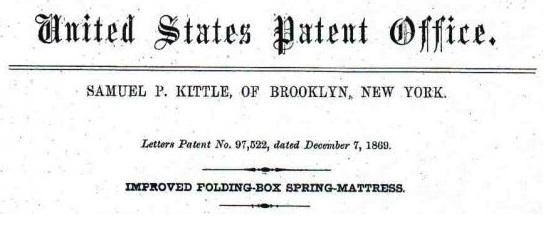 Boxspring patent